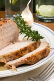 Garlic Rosemary Roast Pork Stock Images