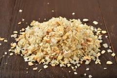 Garlic salt Stock Images