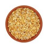 Garlic Salt Small Dish Stock Photography
