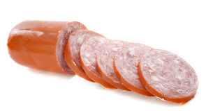 Garlic sausage Royalty Free Stock Photo