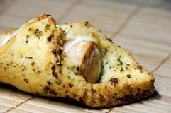 Garlic sausage. Close up of garlic sausage Stock Photo