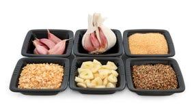 Garlic Selection Royalty Free Stock Photo