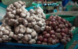 Garlic & Shallots Stock Image
