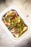 Garlic and shallots Royalty Free Stock Photos