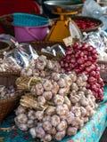 Garlic and shallots Royalty Free Stock Image