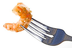 Garlic Shrimp Royalty Free Stock Photography