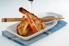 Garlic Shrimp Stock Photos