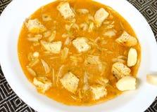 Garlic soup Royalty Free Stock Photos