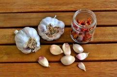 Garlic. Still life Royalty Free Stock Photo
