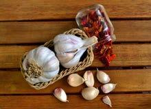 Garlic. Still life Royalty Free Stock Image