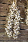 Garlic string Royalty Free Stock Photos