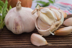 Garlic and Sweet brasil Royalty Free Stock Photography