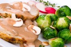 Garlic Thyme Roast Pork Stock Images