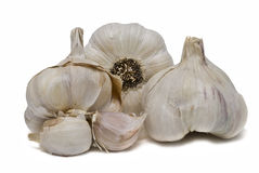 Garlic to cook. Royalty Free Stock Photos