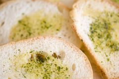 Garlic toast Stock Images