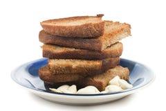 Garlic toast Royalty Free Stock Images