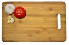 Garlic and tomato Royalty Free Stock Photography