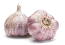 Garlic vegetable Stock Image