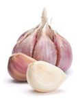 Garlic vegetable Royalty Free Stock Images