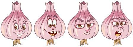 Garlic. Vegetable Food concept royalty free stock photos