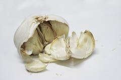 Garlic vegetables  background Royalty Free Stock Photo