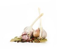 Garlic vegetables Royalty Free Stock Photography