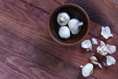 Garlic, vegetarian, vegetable, cooking, food, food, vitamin C, stock photography
