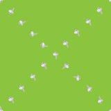 Garlic x sparse pattern Royalty Free Stock Image