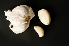 Garlicdetails Fotografía de archivo libre de regalías