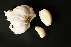 Garlicdetails Fotografia Stock Libera da Diritti