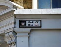 Garlick kulle Royaltyfria Bilder