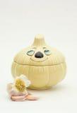 Garlics Imagenes de archivo