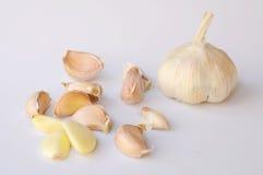 Garlics Royalty-vrije Stock Foto's