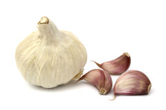 Garlics Royalty Free Stock Photos