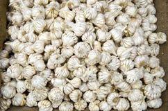 Garlics in asia market Stock Image