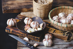 Garlics Royalty Free Stock Image