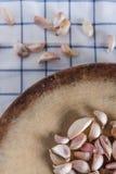 Garlics preparetion Zdjęcie Royalty Free