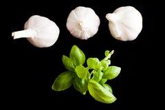 Garlics tre Fotografia Stock Libera da Diritti