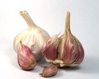 Garlics twee Stock Afbeelding