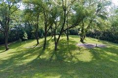 Garlough parka drzewa i wzgórza Obrazy Royalty Free