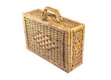 Garment bag. Woven rattan Luggage , Garment bag Stock Photography