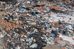 Garment Factory Debris Royalty Free Stock Photo