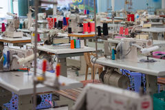 Garment factory Stock Images