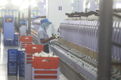 Garment Industry Development in absorbing labor Royalty Free Stock Photography