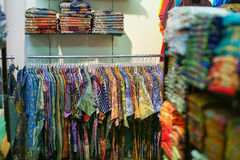 A garment in store. Bright colors stock photo