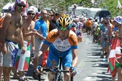 Garmin Cyclist Royalty Free Stock Photo