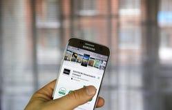 Garmin Navigon smartwatch verbindt Stock Afbeelding
