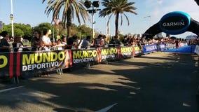 Garmin Triathlon stock video footage