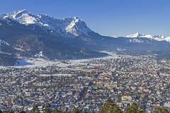 Garmisch mit Zugspitze Royalty Free Stock Images
