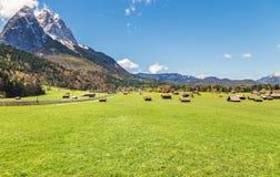 Garmisch Partenkirchen в Баварии Стоковое Изображение
